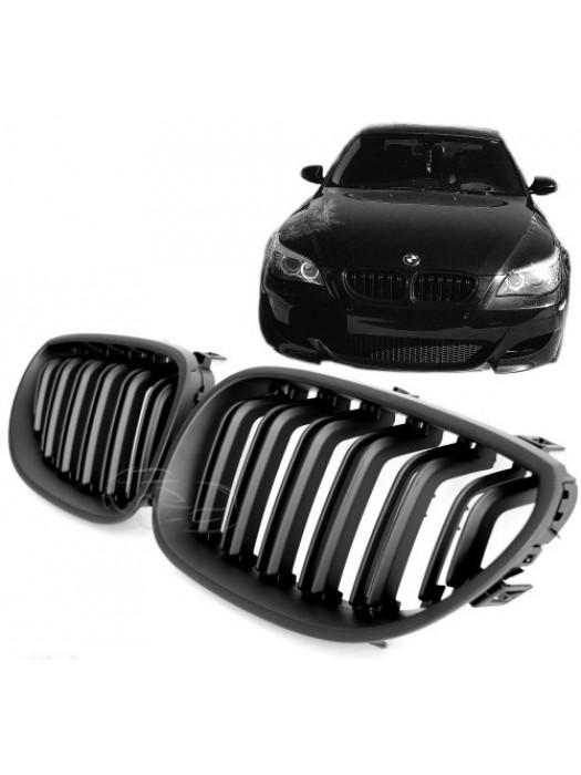 Maska BMW 5 E60/E61 – černá, matná, styl M5