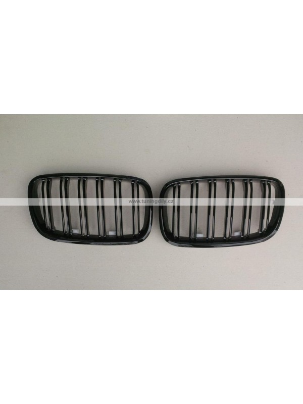Maska BMW X5 E70, X6 E71– černá, lesklá
