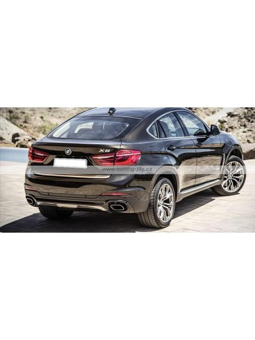 Boční nášlapy BMW X6 F16 2014+