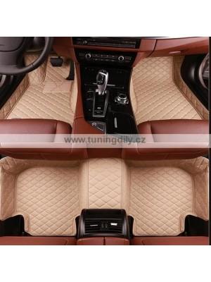 Autokoberce, koberečky pro Volvo XC90 2015+ (béžové)